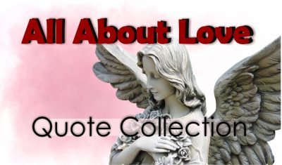 All About Love Quote Collection
