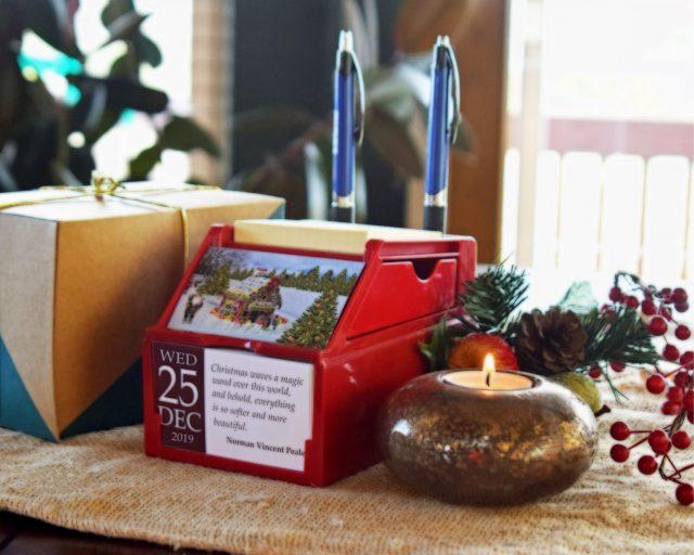 Christian Gift: Tabletop Organizer