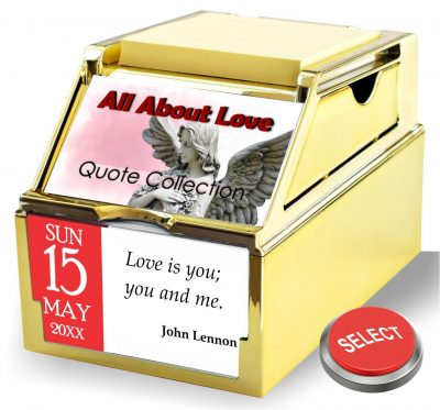 All About Love Organizer