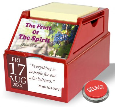 The Fruit Of The Spirit Collection of Bible Verses