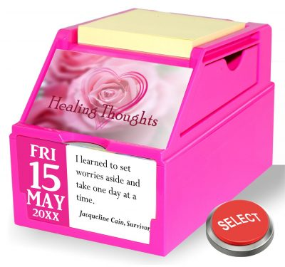 Healing Thoughts Breast Cancer Support Collection
